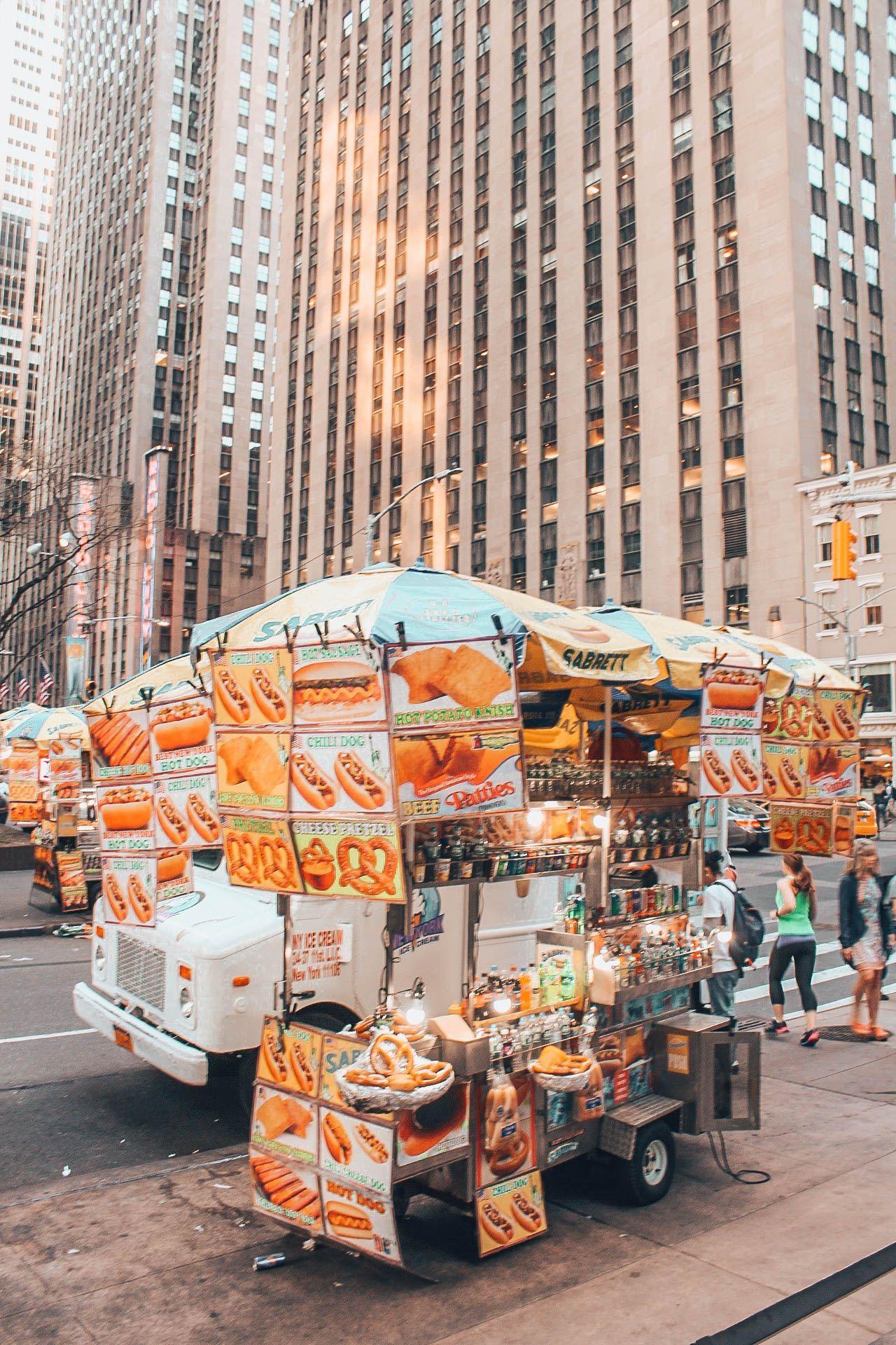 Street food - New York City by @bbmaheva