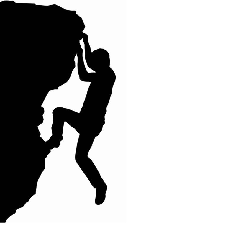 climbing sticker climbers decal extreme font b sports b font font b rh pinterest ca  rock climbing silhouette clip art