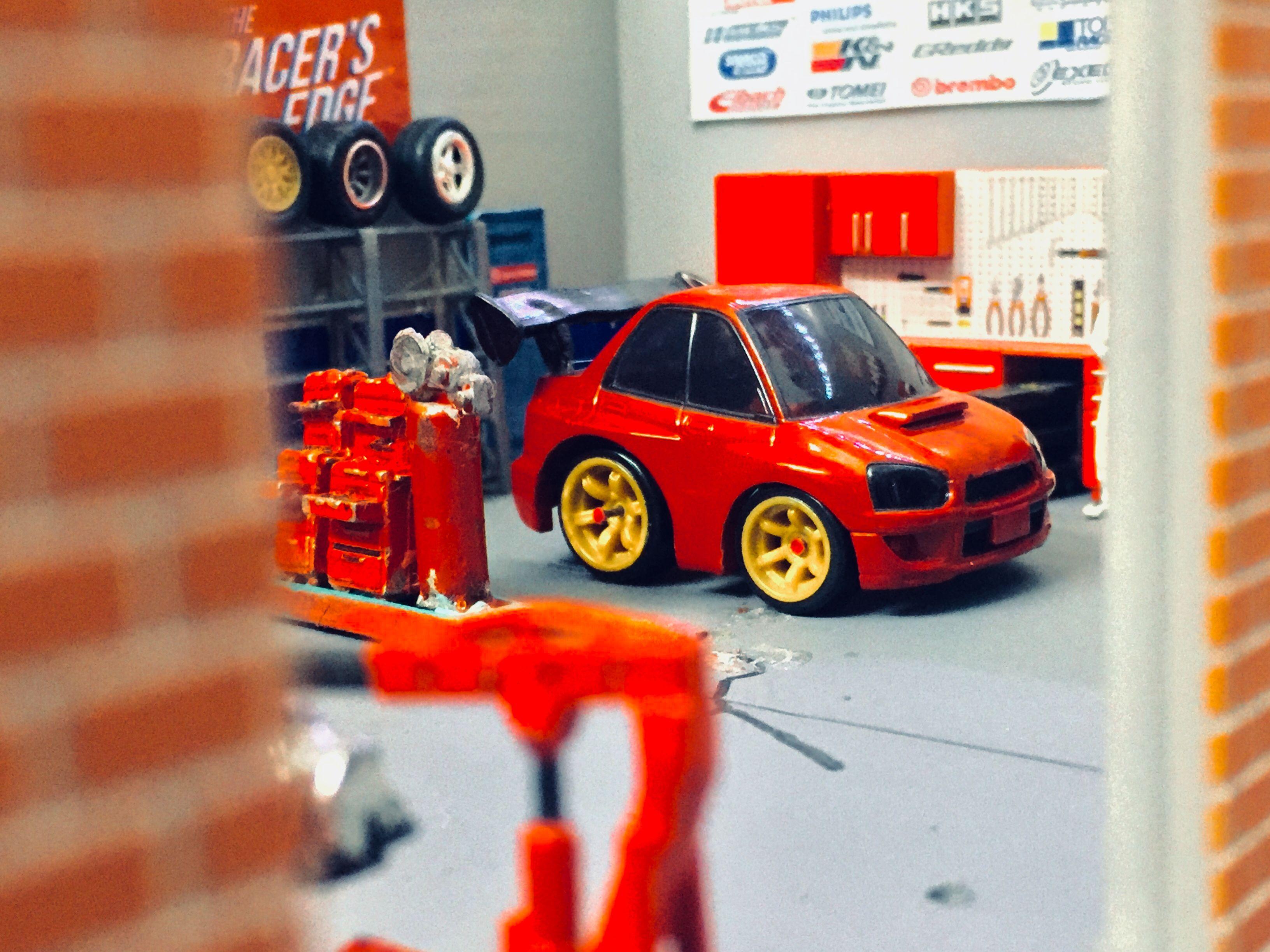 Subaru Choro Q Choroq Subaru Impreza Toy Car Subaru Impreza