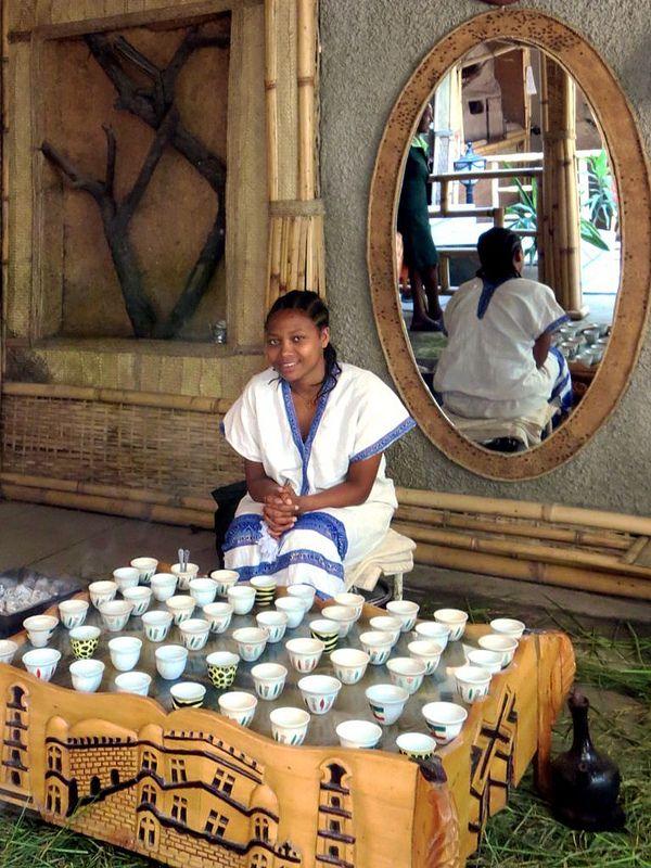 Ethiopian Coffee Ceremony | * Food Africa * in 2019