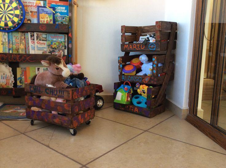 muebles para niños hechos con huacales - buscar con google | cosas