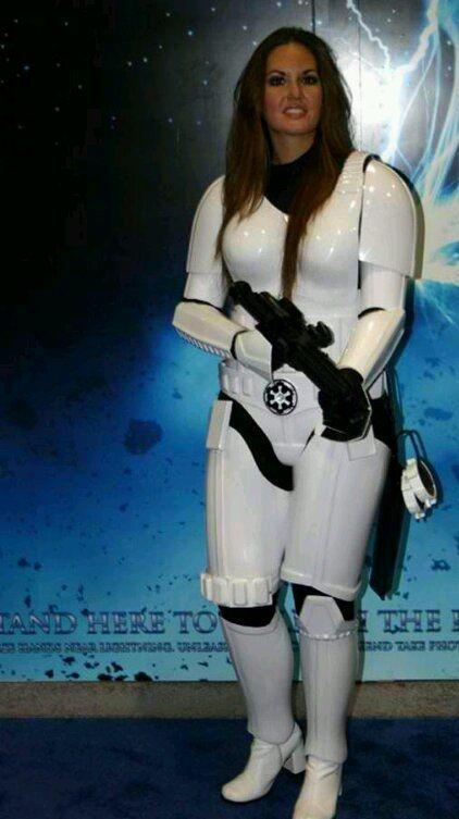 Star Wars storm trooper cosplay! you can arrest me  I'm a Rebel :)