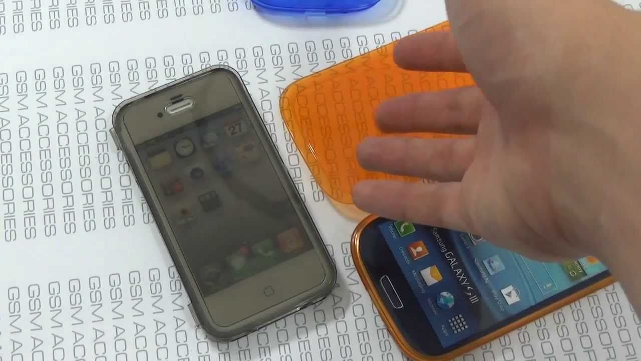 Video demostrativo de la funda en gel con tapa capacitiva Jelly Case Ultra. De venta en @SKdualsim y por solo 6 €! La estrella de estas Navidades en cuanto a  protección para móviles se refiere.