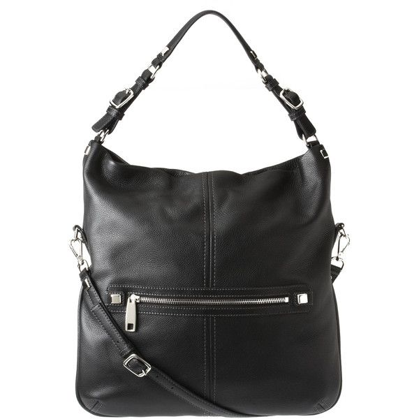 09754afba3b9 Nine West Nolita Leather Hobo Bag ( 80) ❤ liked on Polyvore featuring bags