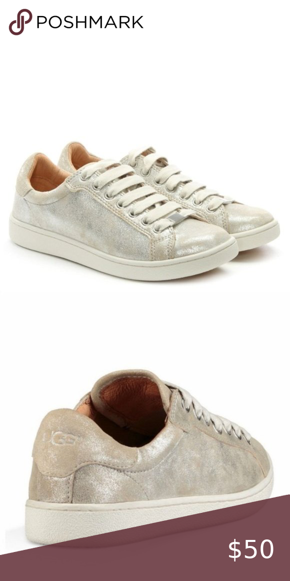 UGG Milo Stardust Lace Up Trainer