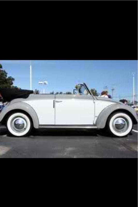 love   tone paint job  gray  white vw bug love affair vw beetles volkswagen