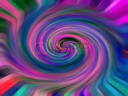 A Swirling Mass of Color and Texture