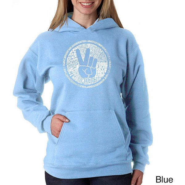 82632229db2 Los Angeles Pop Art Women s cities Along THE Legendary Route 66 inch  Hoodie