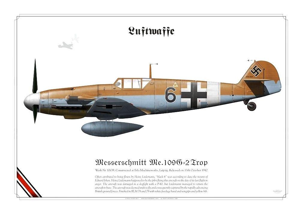 Messerschmitt Bf 109G-2 Trop 'Black 6'