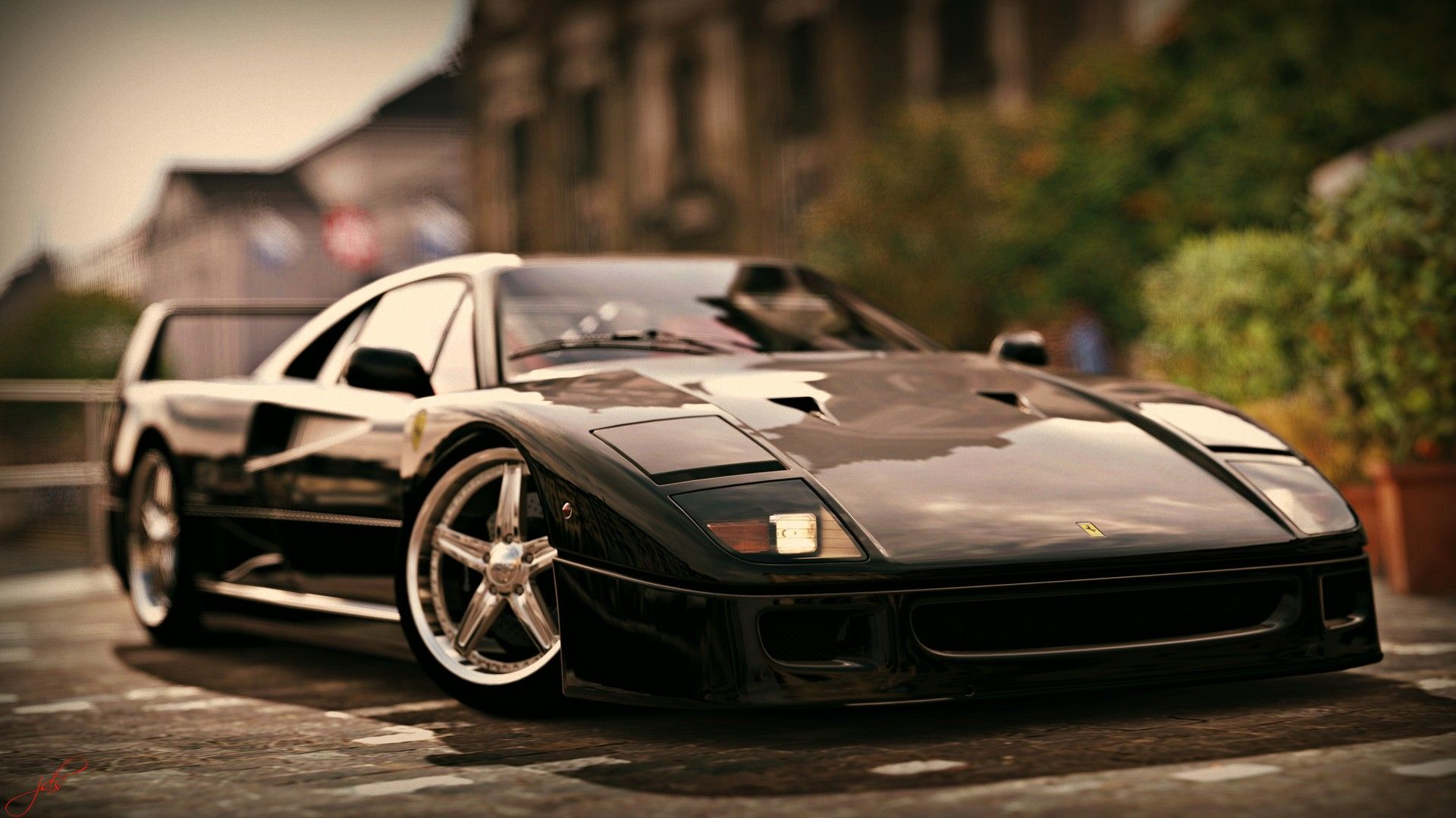 Ferrari F40 Black With Images Ferrari F40 Ferrari Sports Car