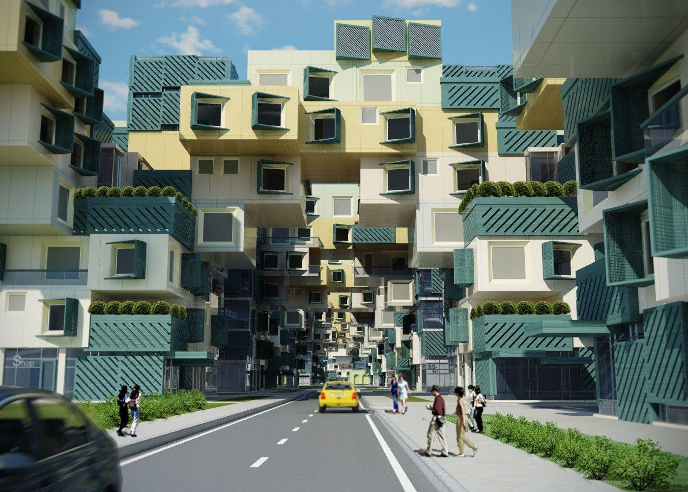 Habitat Düsseldorf un habitat announces winners of mass housing competition