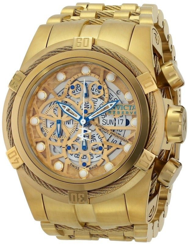 9fcf8b2d050 Invicta Gold Watch
