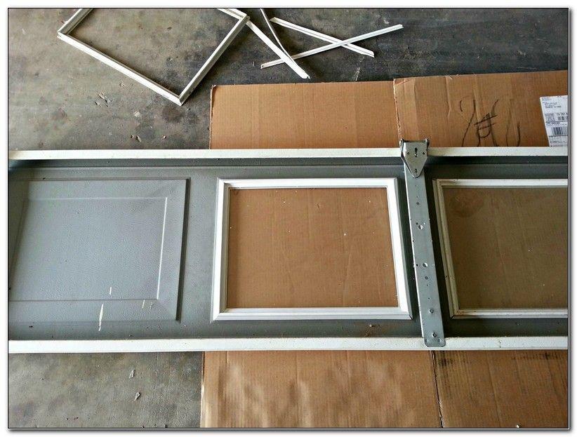 Door Garage Door Window Kits Home Interior Designs Throughout