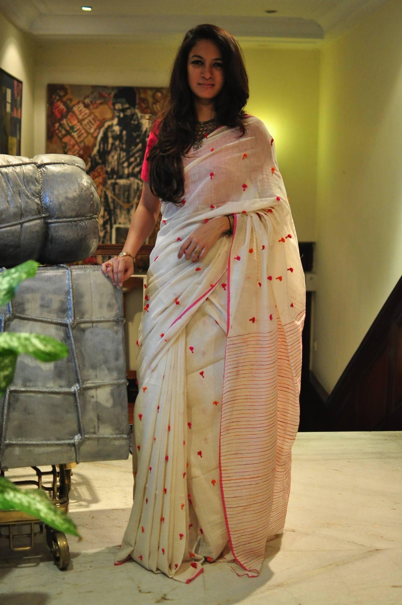 067ec8301d274c Beautiful cotton saree. Byloom Sarees