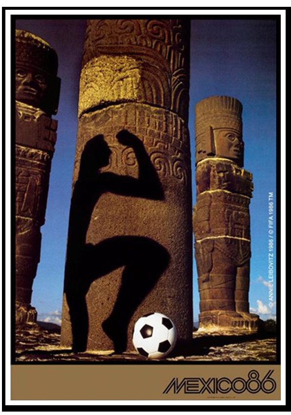 Afiches de los Mundiales de Fútbol