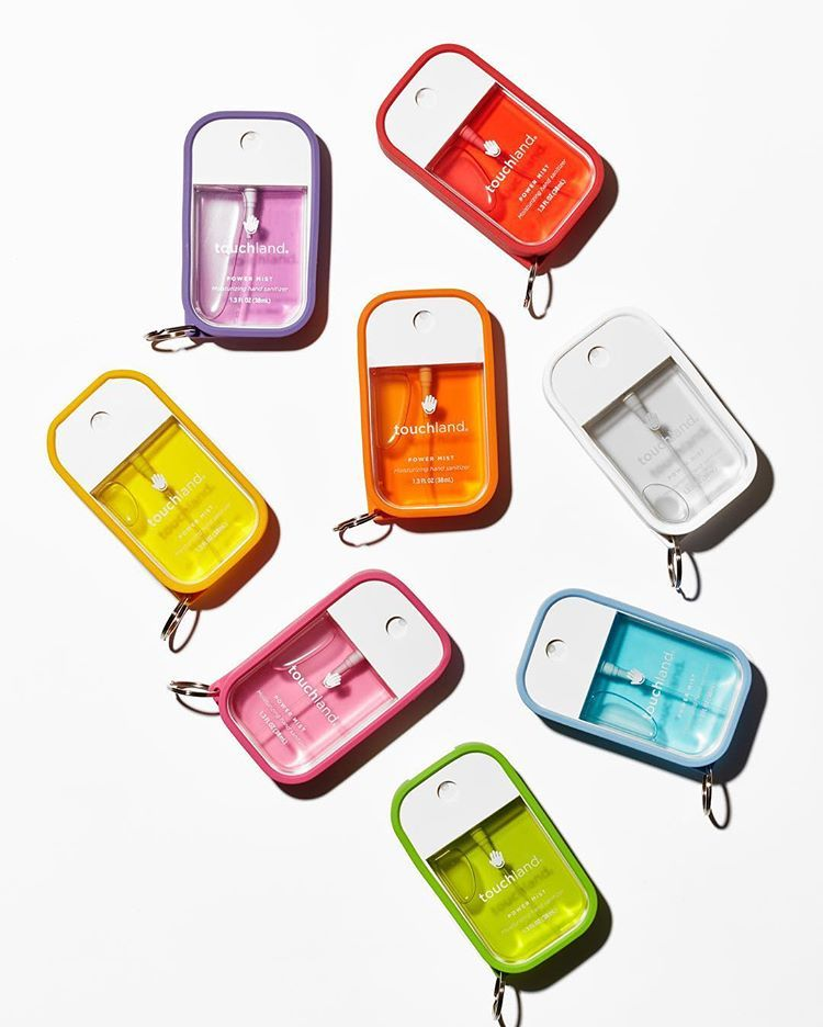Meet The Power Mist Shields The Hand Sanitizer With Key Ring
