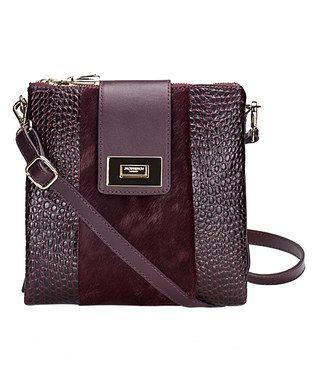 89b3143d06ec Plum Leather Kingston Crossbody Bag | Táskák, hátizsákok, bőröndök ...