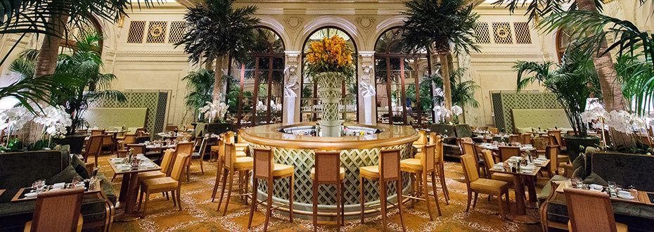 The Palm Court Bridal shower venues, Nyc restaurants, Ny