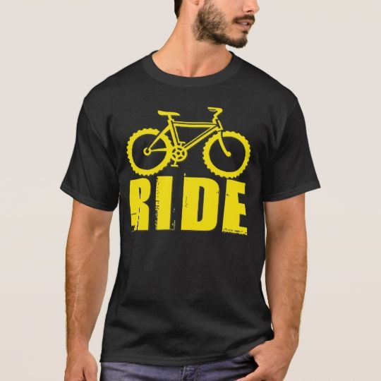 BICYCLE-YELLOW T-Shirt