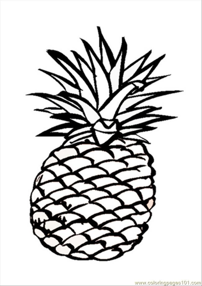 Alif is for Ananas Pineapple Arabic Alphabets