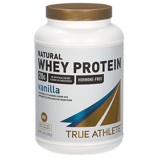 Natural Whey Protein - Vanilla (2.5 Pound Powder) by True Athlete at the Vitamin Shoppe Mobile
