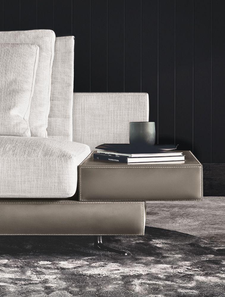 White Saddle Hide Base White Sofas En Minotti Furniture Sofa Furniture Furniture