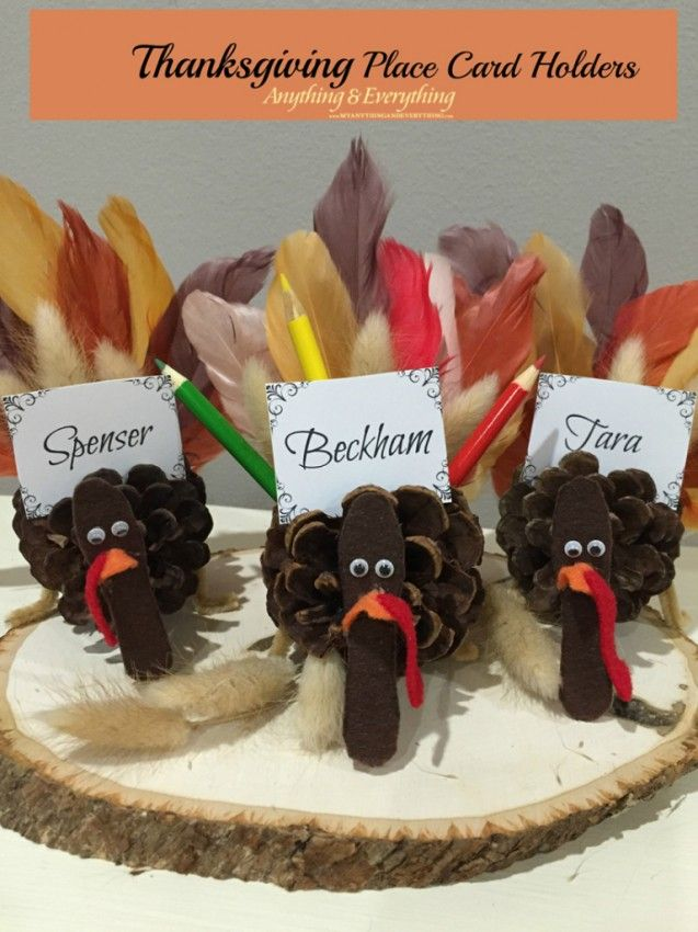 thanksgiving place card holders place card thanksgiving