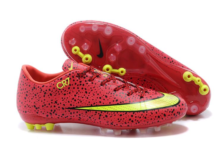 Nike Mercurial Vapor X Superfly IIII AG CR7 Voetbalschoenen Rood 1