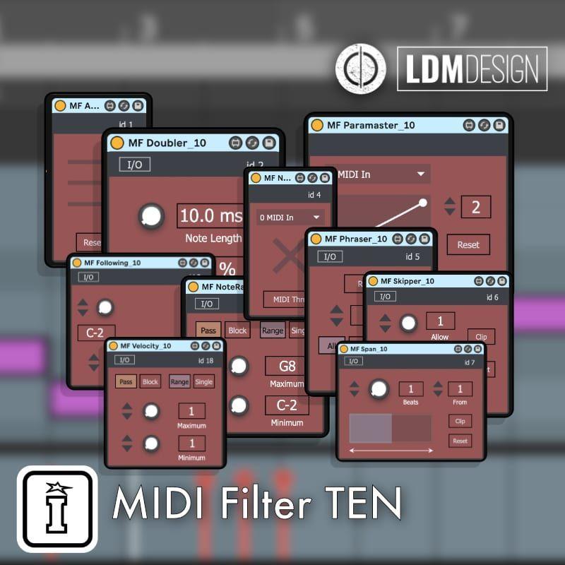 NEW RELEASE MIDI Filter TEN by LDM Design LDM Design is
