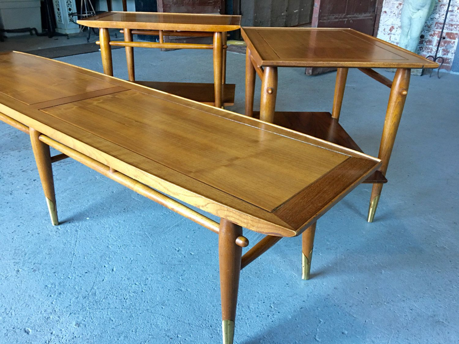 Mid Century Extra Long Surfboard Coffee Table -Mid Century ...