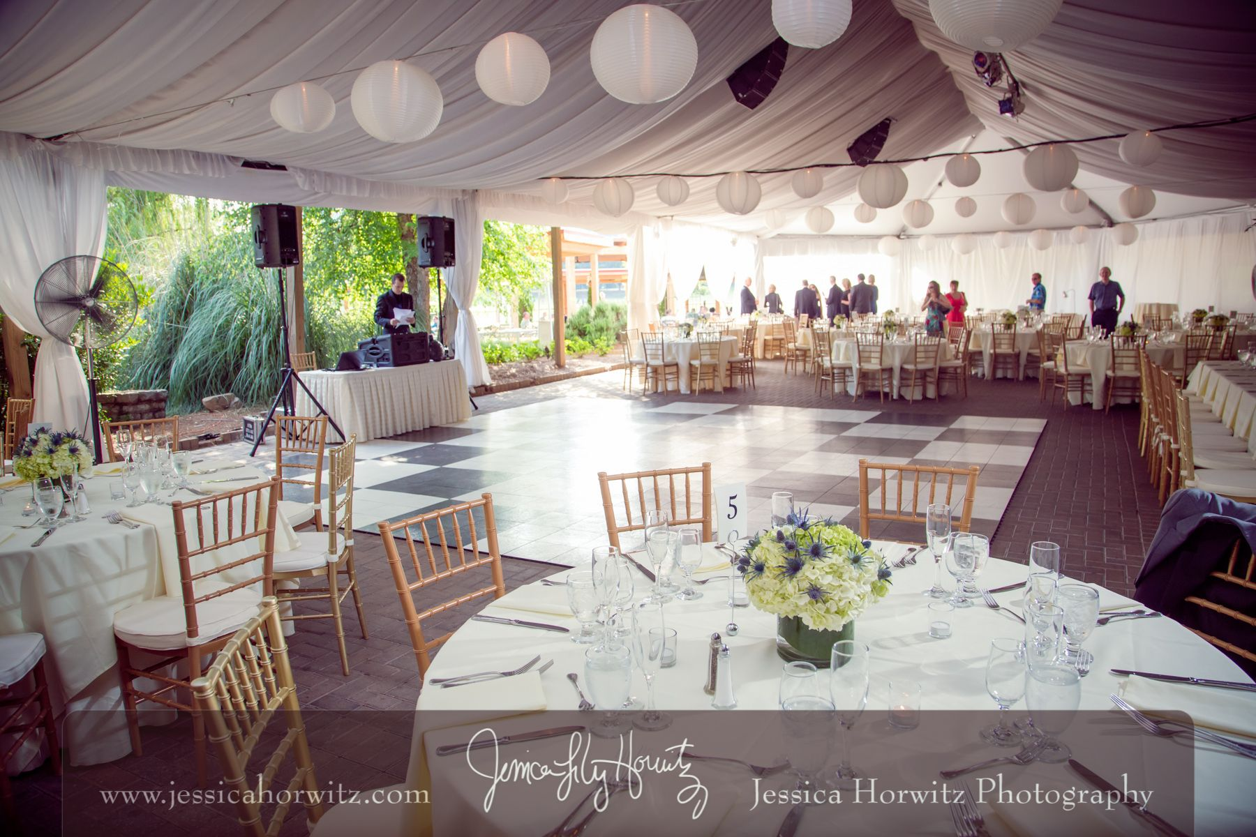 Piedmont Garden Tent Reception at Park Tavern Photo by