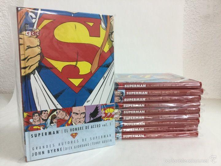 Grandes Autores de Superman: John Byrne - El Hombre de Acero ...
