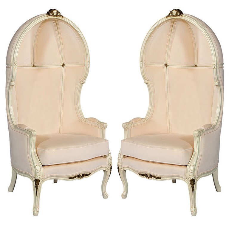 Carrocel lounge chair style porter canadian louis xv