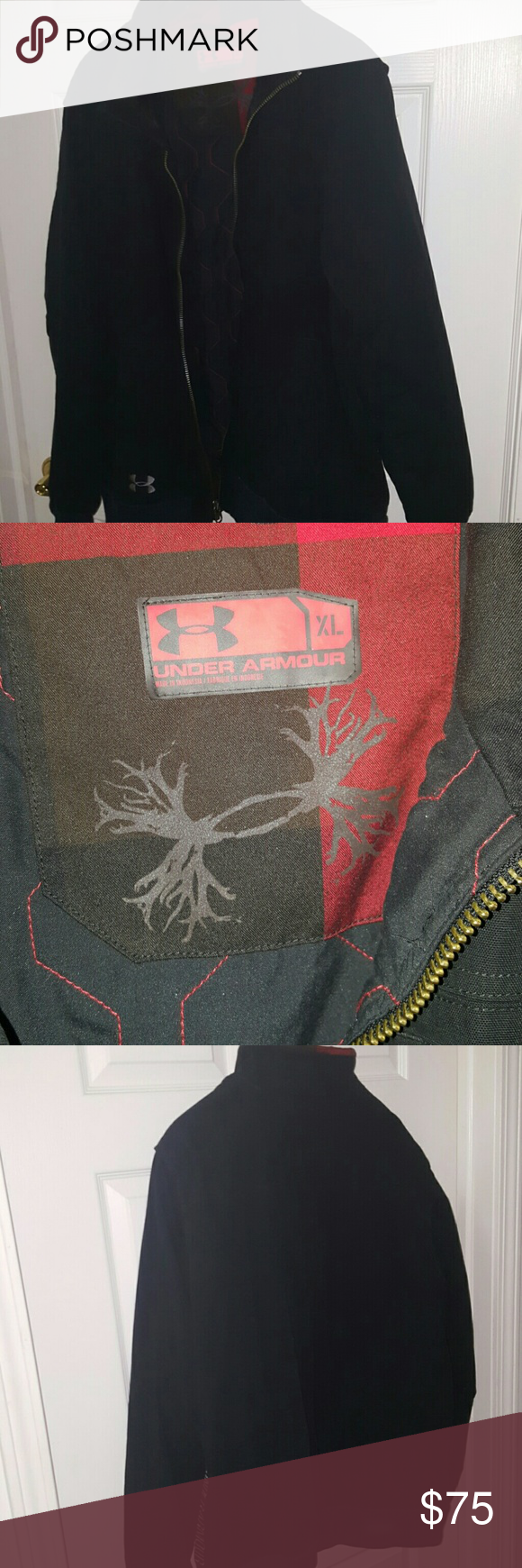 Amazing NWOT UA coat Men's XL, no defects, fully working. Very warm. Under Armour Jackets & Coats