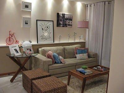 Como combinar os móveis da sala de estar? - A Casa da Sheila