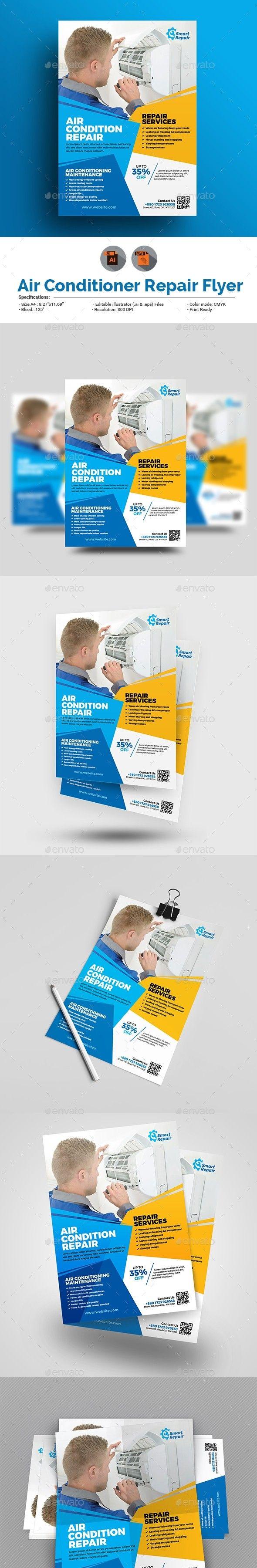 ac brochure, ac expert, ac fix, ac flyer, ac postcard, ac