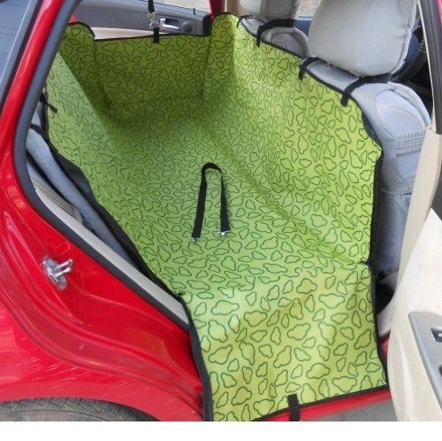 car back seat pet dog mat full protect cover anti scratch blanket green. Black Bedroom Furniture Sets. Home Design Ideas