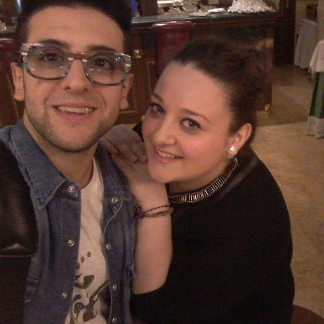 #Repost from @jerossetti with @ig_saveapp. E poi... lui @barone_piero ♥ improvvisamente ;-) #ilvolo #ilvolomundialoficial #grandeamore #inaspettatamente #incontri #pierobarone #like #me #smile #happy #happiness #love #volovers #ilvolomusic