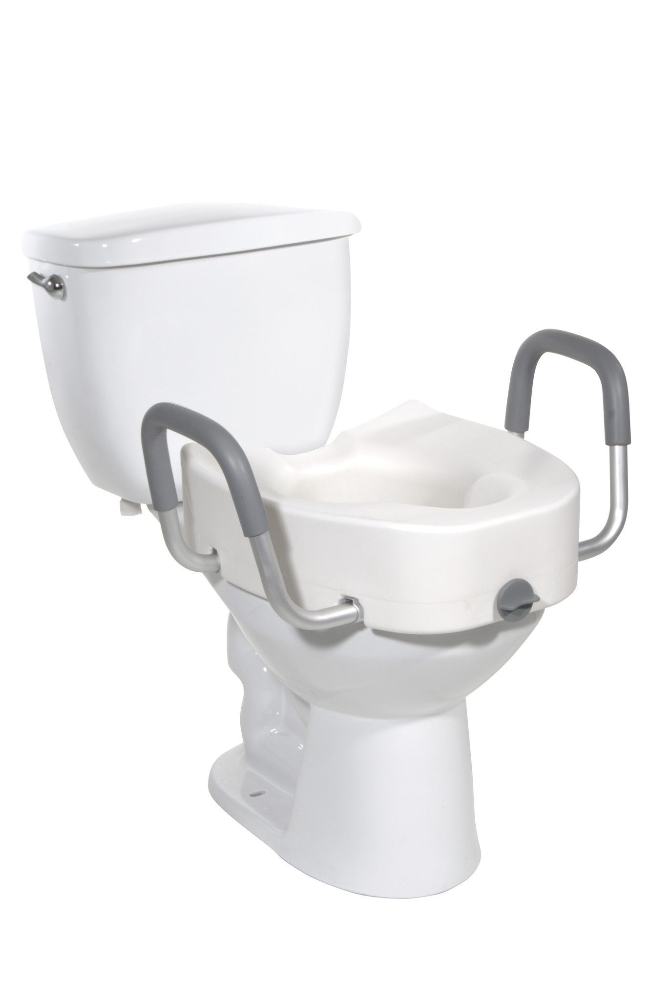 Magnificent Raised Toilet Seat With Padded Armrests In 2019 Products Dailytribune Chair Design For Home Dailytribuneorg