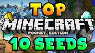 TOP 10 BEST SEEDS for Minecraft Pocket Edition 0 16 2