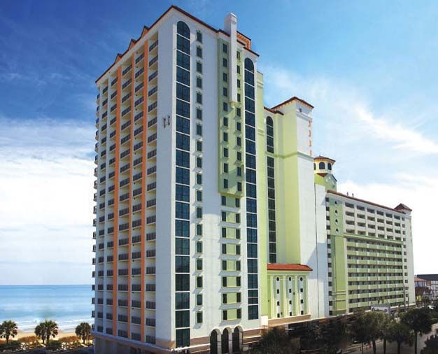 Caribbean Resort, Myrtle Beach, is in the heart of it all