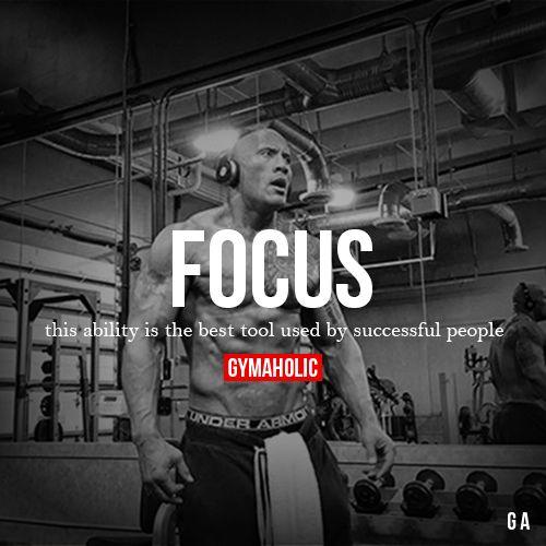 Focus Fitness Motivation Quotes Fitness Motivation Bodybuilding Motivation