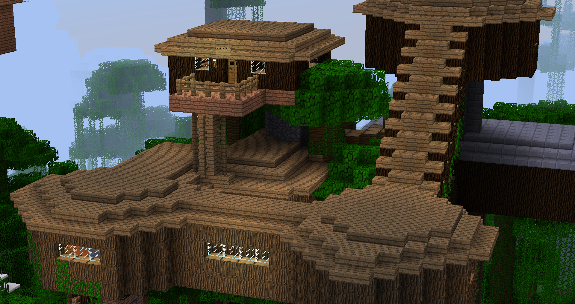 minecraft treehouse Google Search Minecraft houses