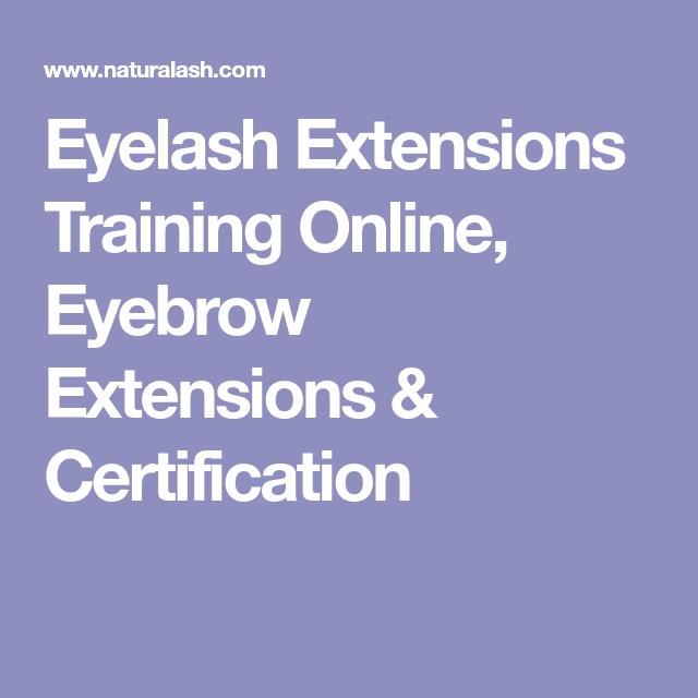 Eyelash Extensions Training Online Eyebrow Extensions