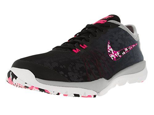 6c6554feb23 Nike Women s Flex Supreme Tr 4 Pr Black Hyper Pink Wlf Gry White Training  Shoe 8 Women US   Read more at the image link.