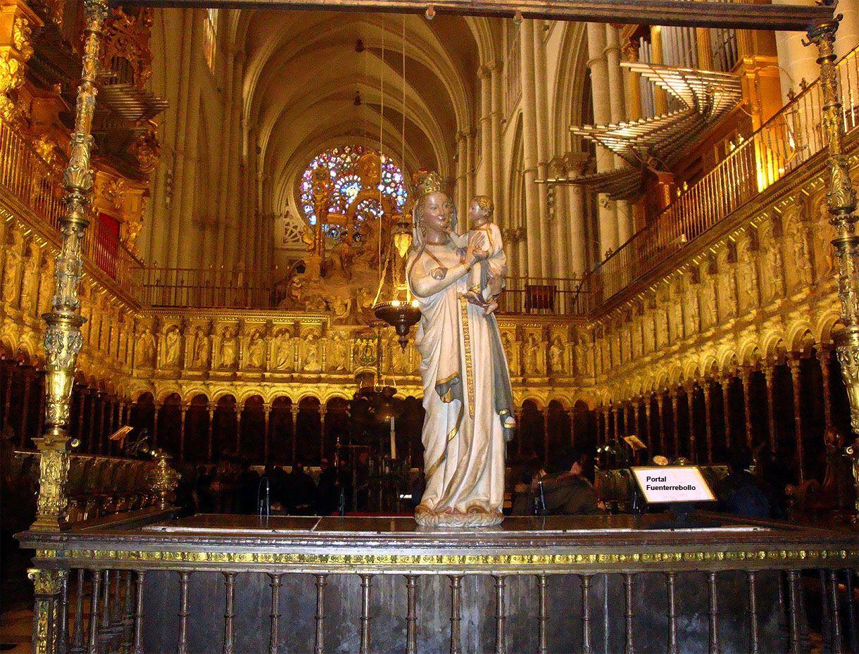 Coro De La Catedral Primada De Toledo El Coro Bajo Data Entre 1495 1498 En Gótico Tardío Donde Rodrigo Alemán Plasmó En La Sillería E Catedral Toledo Portal