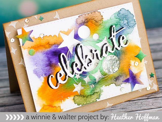 Watercolor Celebrate with Winnie and Walter