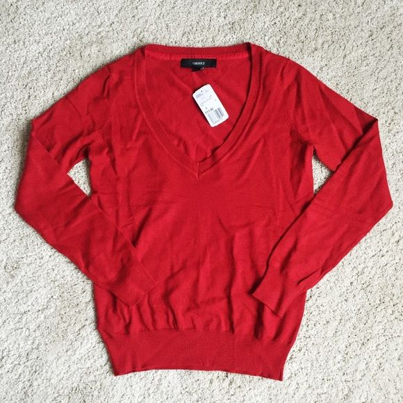 Forever 21 V-Neck Sweater NWT | D, Forever 21 and Sweaters
