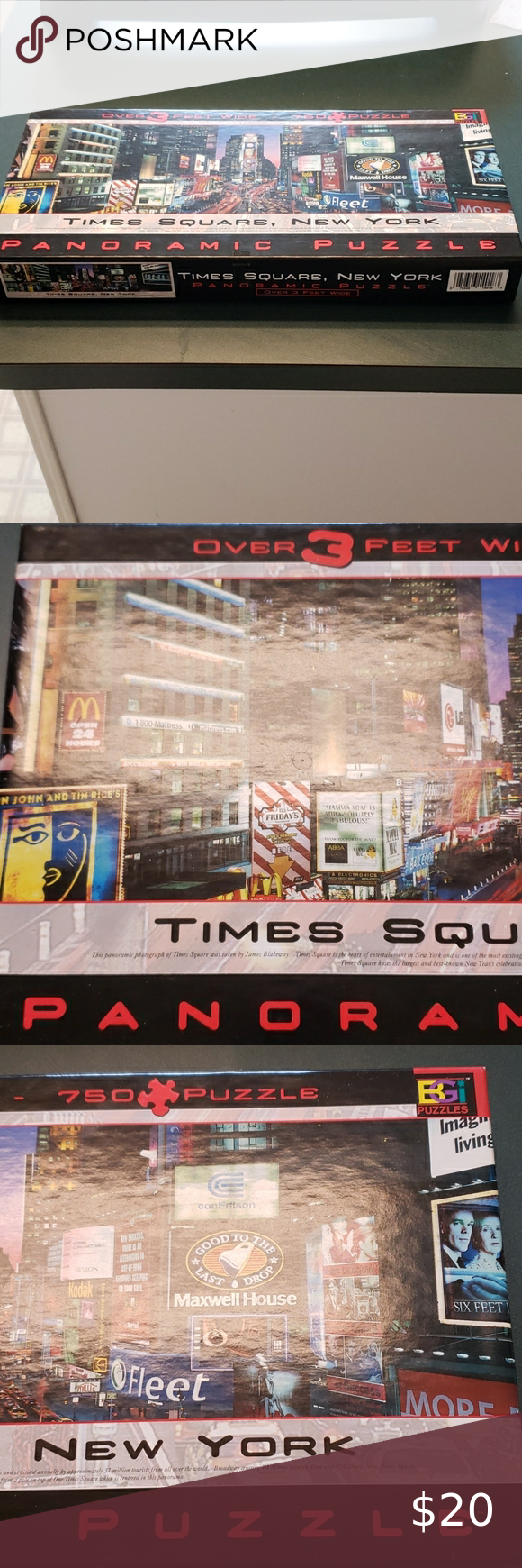 Buffalo Games, Inc. New York Times Square Puzzle in 2020