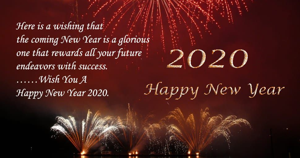New Year 2020 Wishes Images Happy new year status, Happy